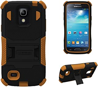 Beyond Tri-Shield Case for Samsung Galaxy S4 Mini - Retail Packaging - Black/Brown