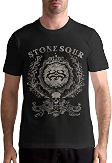 Larry C Adamson Stone Sour Men's T-Shirt 100% Cotton