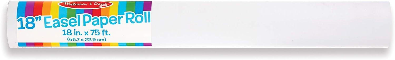 Melissa /& Doug Easel Paper Roll 18 x 75