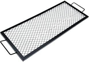 Onlyfire Rectangle X-Marks Fire Pit Cooking Grate, 40-Inch