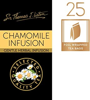 Sir Thomas Lipton Enveloped Tea Bag Chamomile Infusion