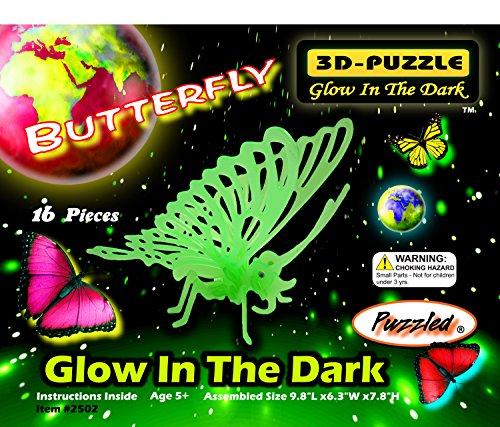 Perplexe 2502 Glow In The Butterfly fonc-