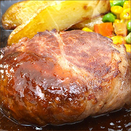 北海道産 牛肉 牛霜降り ハンバーグ 5個セット (おろしソース) ギフト 肉の山本 グルメ お取り寄せ