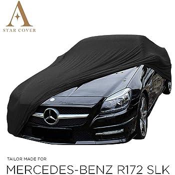 Guoguocy Housses pour Auto Housse de Protection Protection SUV Couverture All Weather Compatible avec la Voiture Couvre Mercedes-Benz Classe SLK Color : A, Size : SLK 200 imperm/éable