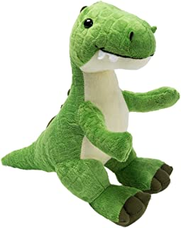 Plush T-Rex Dinosaur Baby Stuffed Animal Toy Kids Gift Green 10
