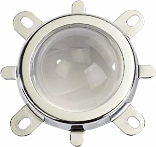 Tesfish 44mm 120度レンズ+ 50mmリフレクターカップ+固定ブラケットは50W 100W LED電球用