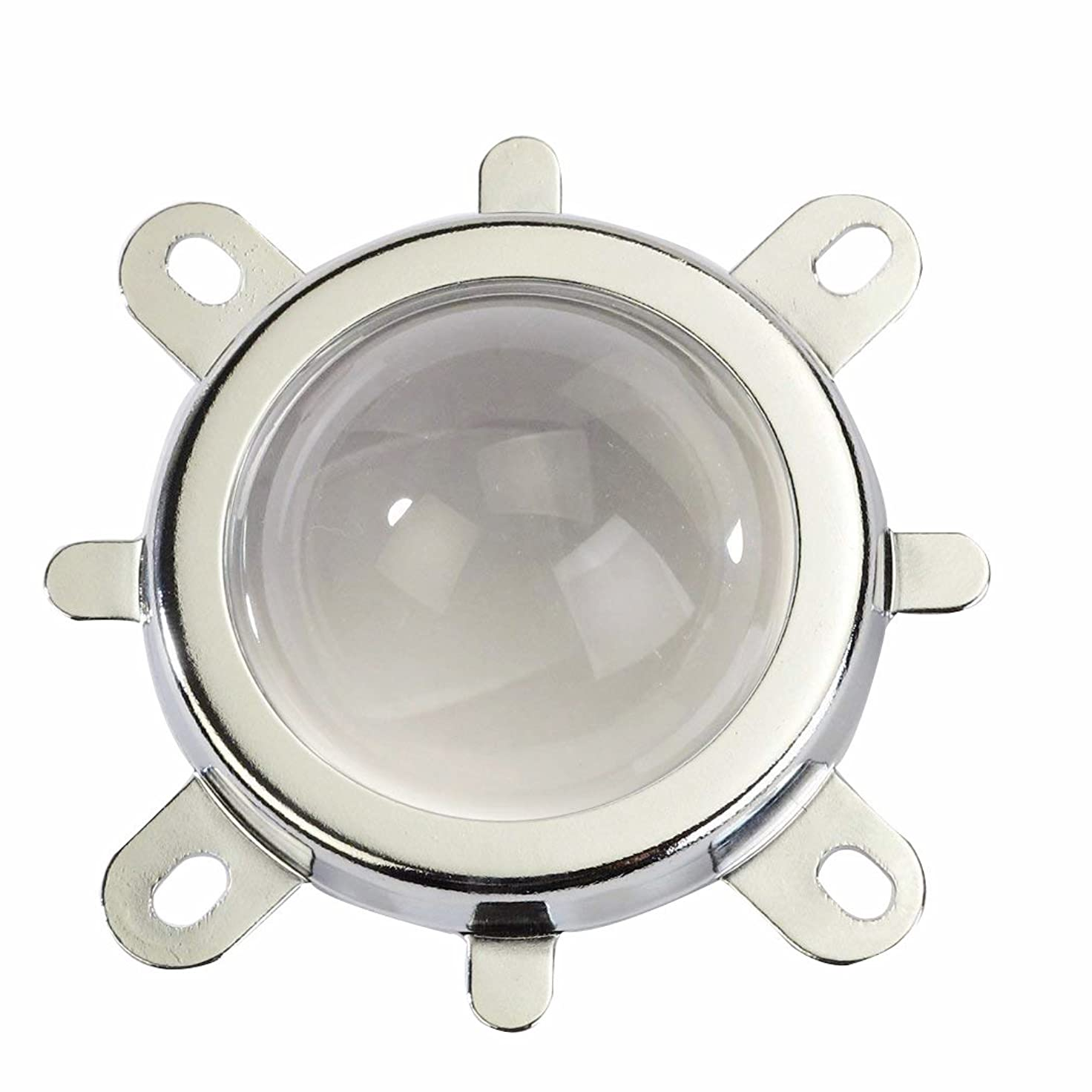 子犬陰謀染料Tesfish 44mm 60度レンズ+ 50mmリフレクターカップ+固定ブラケットは50W 100W LED電球用