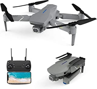 Color : Negro, tama/ño : Back Left DorisAA Drone Flash LED de Colores claros Compatible con Eachine E511 WiFi FPV RC Drone Quadcopter Recambios Eje Armas con el Motor y la h/élice