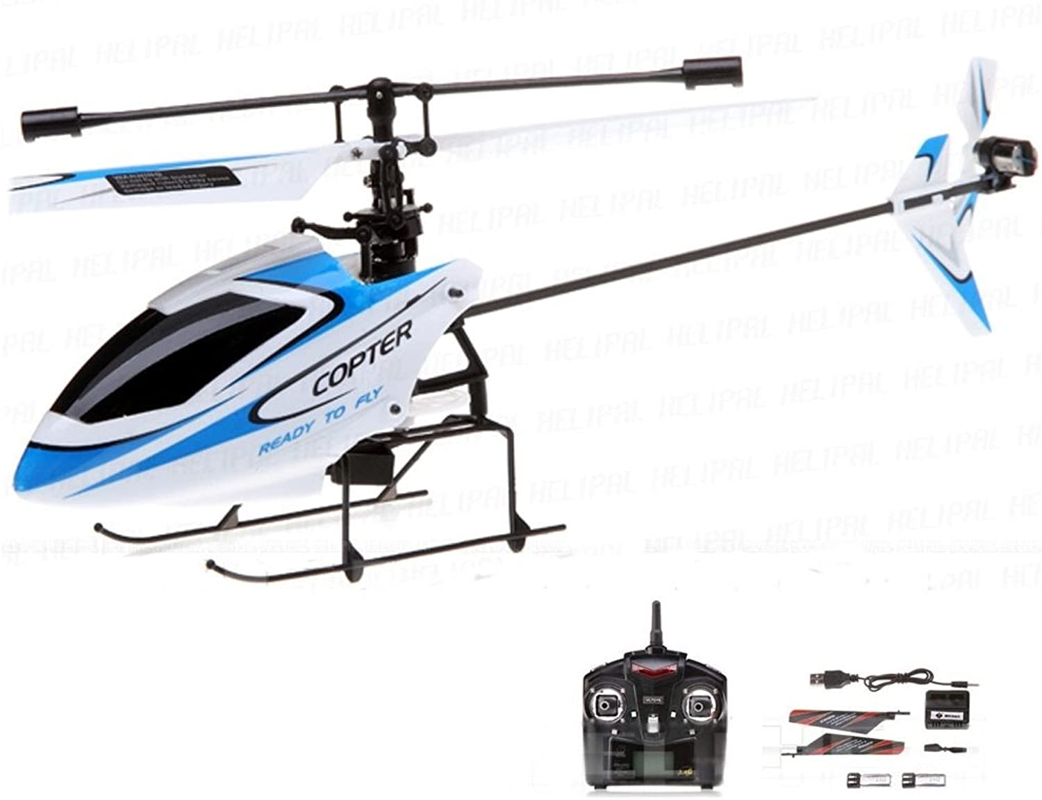 4.5 Channel 2.4Ghz RC Remote Control Helicopter in Mega Set Helicopter with 2.4 Ghz, Gyro System RTF including 2 x Battery and CrashKit