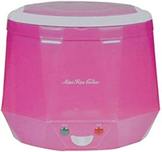 Electric rice cooker car truck home multifunction mini lunchbox steamer holding function timer premium interior pot multic...