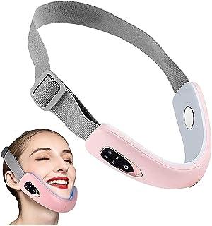 Qjkmgd Gezicht afslanken riem gezichtscontour schoonheid instrument elektrische gezichtslift intelligent elektrisch instru...