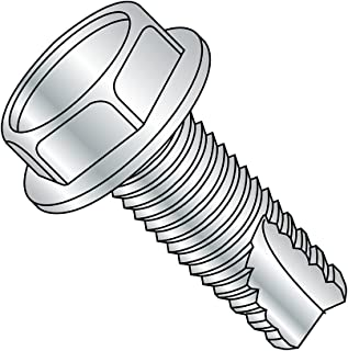 Plain Finish 3//4 Length Pack of 25 Pack of 25 Phillips Drive 18-8 Stainless Steel Thread Cutting Screw 3//4 Length #12-24 Thread Size Small Parts 1212FPF188 82 Degree Flat Head Type F