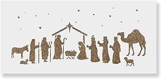 nativity scene stencil