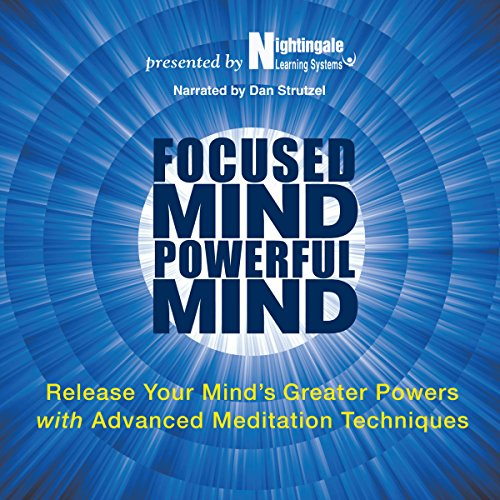 Focused Mind, Powerful Mind audiobook cover art