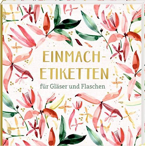 Etikettenbüchlein - Einmach-Etiketten (All about rosé): für Gläser und Flaschen