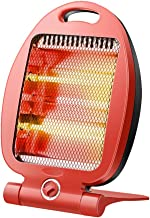 Yhz@ Calentador de cuarzo para el hogar Estufa de parrilla mini Calentador Calentador de radio provincial para ahorro de calor rápido con inclinación de 2 velocidades para oficinas pequeñas 300W / 600