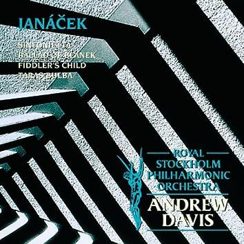 Janácek : Sinfonietta; Ballad of Blanek; Fiddler's Child; Taras Bulba