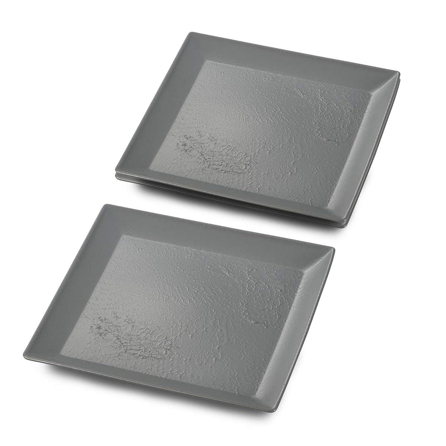 アレルギー不規則な長方形CtoC JAPAN Select 大皿 グレー Craft art 角盛皿 STGY CTC-126389 3個入