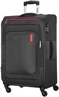 حقيبة سفر دونكان الناعمة لحمل الأمتعة من أميريكان توريستر، لون أسود، قطر 55 سم