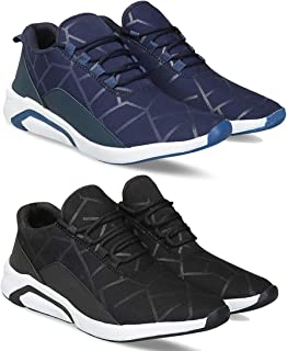 ARMADO Combo Pack of 2 Sports and Running Shoes for Men