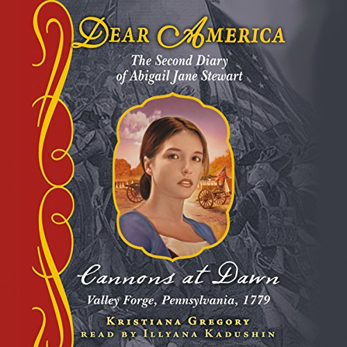 Dear America: Cannons at Dawn audiobook cover art