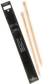 Crystal Palace Bamboo 12 Inch Single Point Knitting Needles (US Size 0)
