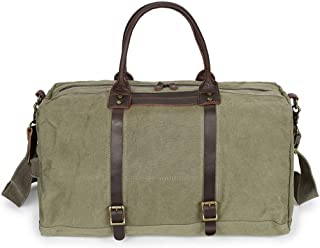 Mens Bag Leather Canvas Rucksack College Large Satchel Men's Messenger Bag High capacity