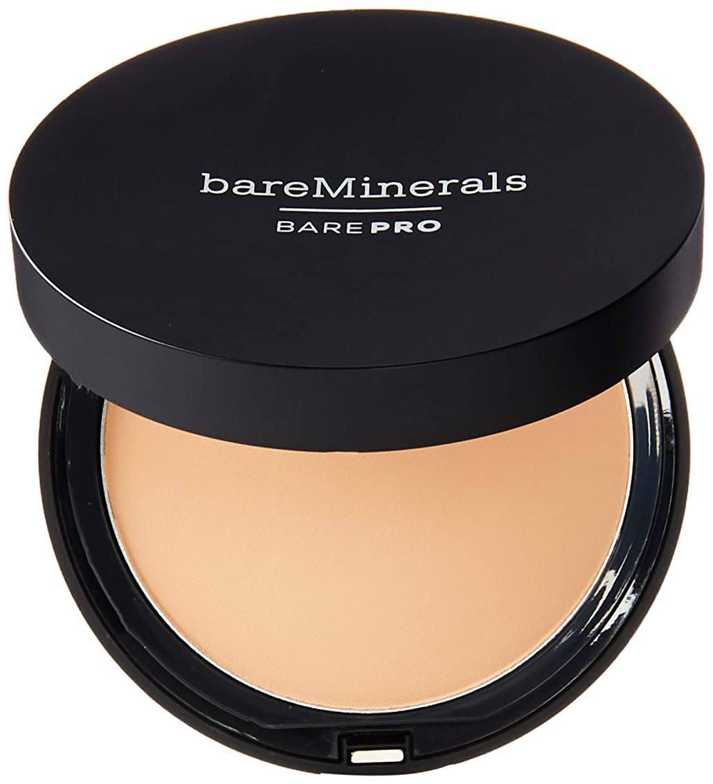 チェリー旅客矛盾ベアミネラル BarePro Performance Wear Powder Foundation - # 12 Warm Natural 10g/0.34oz並行輸入品
