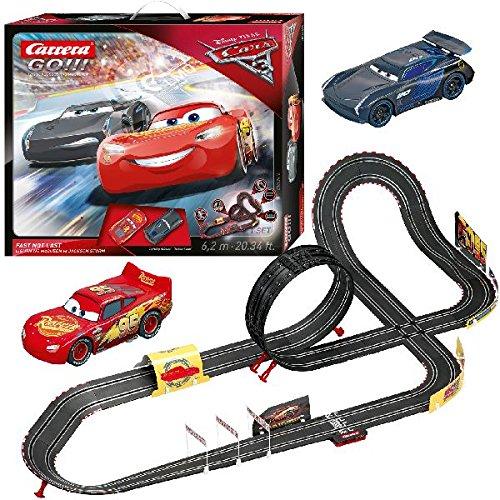 Carrera 20062416 - Go!!! Disney/Pixar Cars 3 - Fast Not Last