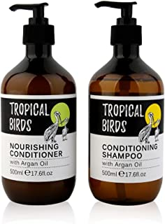 Moroccan Argon Oil Shampoo & Conditioner-For Hair Shine,Thickening hair,and damaged dry hair-Dandruff Free Scalp Treatment...