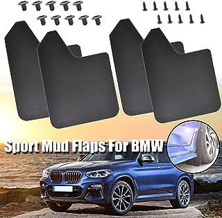 XUKEY Mud Flaps Mudflap Splash Guards Mudguards For BMW 1 2 3 4 5 6 7 8 Series X1 X2 X3 X4 X5 X6 X7 M3 M4 M5 M7 M8 M Sport F16 G05 G06
