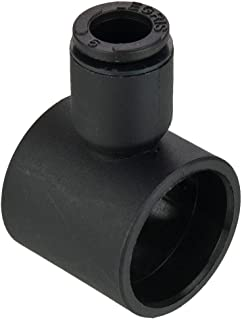 3//8 and 3//8 Push-to-Connect and Male Pipe Compact Right Angle Tube to Pipe Composite 3//8 and 3//8 Pack of 5 Parker FCC731-6-6-pk5 Flow Control Regulator