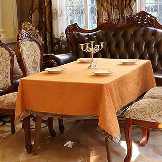 Paño de Mesa Rectangular Lavable Resistente a la decoloración para Mesa de aparador de Pascua Mesas de Comedor de hogar y ...