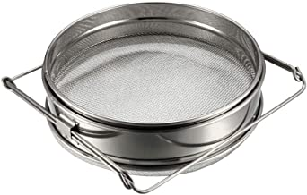 uxcell Honey Strainer Filter Double Sieve Stainless Steel Beekeeping Equipment