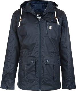 Crosshatch Men's Lightweight Shayter Hooded Cotton Jacket