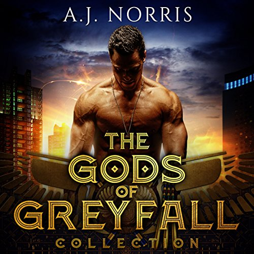 The Gods of Greyfall Collection audiobook cover art