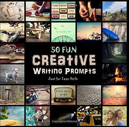 50 FUN Creative Writing Prompts - Just for Teen Girls: Spark Your Fun-Schooling Adventure! (Purse-Si