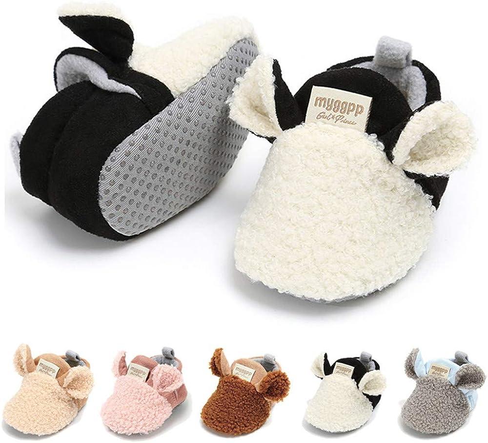 LAFEGEN Infant Baby Boys Finally resale start Girls Slipper Soft Max 75% OFF Sol On Slip Stay Non