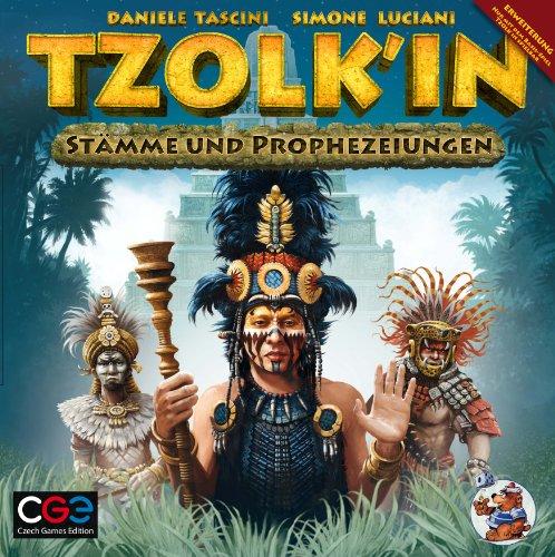 Asmodee CZ032 - Tzolk'in, Maya-Kalender: Stämme und Prophezeiungen - Erweiterung, Strategiespiel