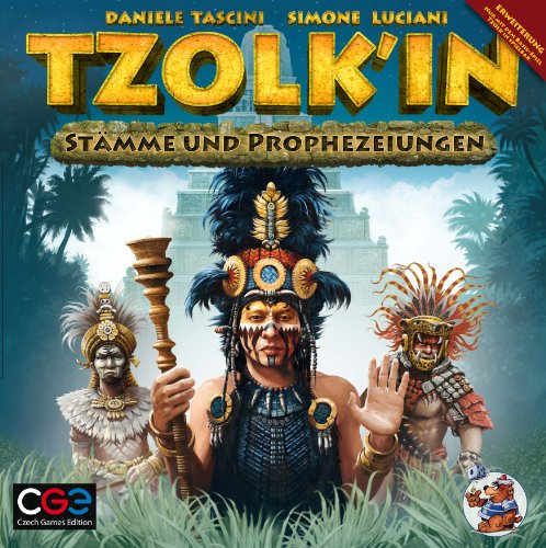 Heidelberger Spieleverlag CZ032 - Tzolk'in, Il Calendario Maya: Gioco di strategia - Espansione: tribù e Profezie