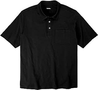 KingSize Men's Big & Tall Lightweight Polo T-Shirt