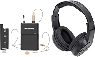 c552c996b63 Samson Stage XPD2 Wireless Live Stream Podcast Broadcast Headset Mic+ Headphones