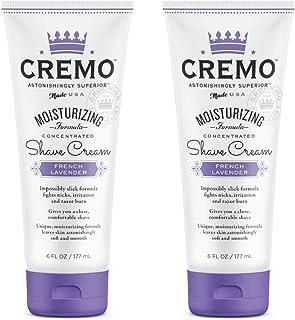 Cremo French Lavender Moisturizing Shave Cream, Astonishingly Superior Shaving Cream For Women, Fights Nicks, Cuts and Raz...