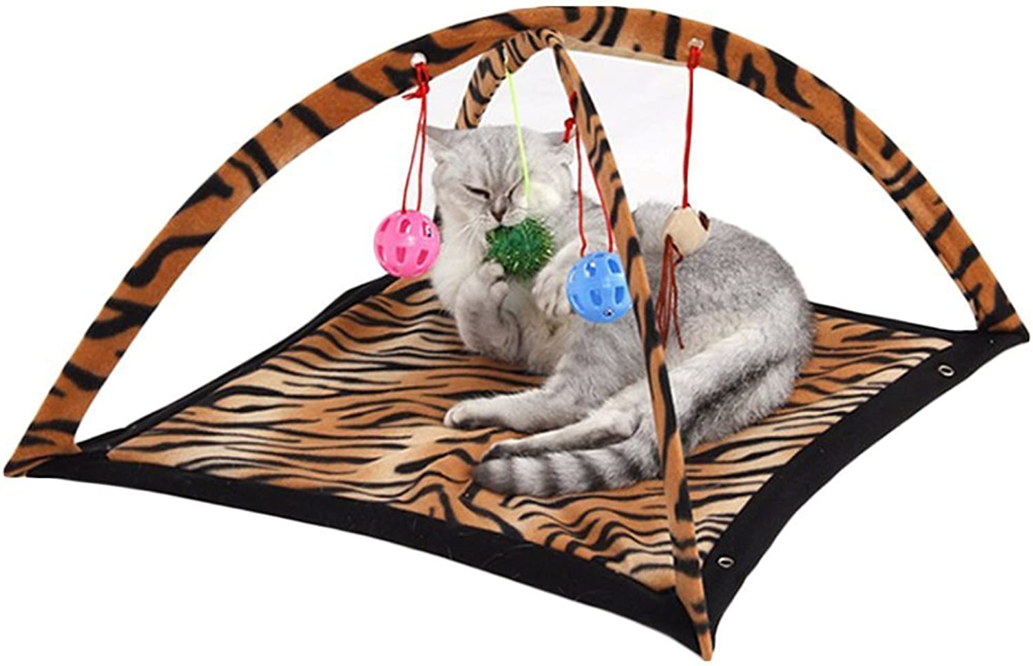 Cat Bed Playful Bed Exercise Game Tent Cat Litter Puzzle Parenting Funny Cat Toy