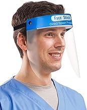 Ben Martin Reusable Safety Face Shield, 5 Pcs Anti-fog Full Face Shield, Universal Face Protective Visor for Eye Head Protection, Anti-Spitting Splash Facial Cover for Women, Men