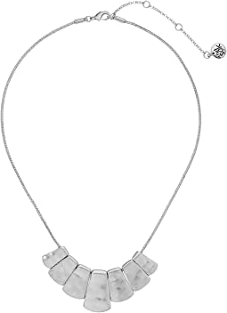 The Sak Small Paddle Necklace 16""