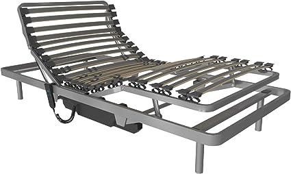 LA WEB DEL COLCHON - Cama Articulada Visual 90 x 190 cms. Somier Reforzado con Mando a Distancia por Cable Uso geriátrico y doméstico Se suministra ...