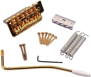 shamjina Gold Metal Tremolo Bridge Set for ST Electric Guitar Parts Accessory