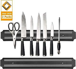 Magnetic Knife Strips, 15 Inch Magnetic Knife Storage Strip, Knife Holder, Knife Bar Block Magnet, Kitchen Utensil Holder,...