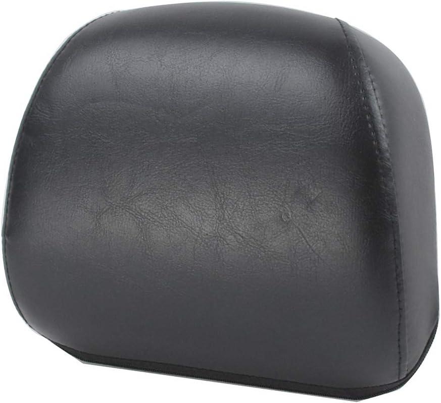 HDBUBALUS Motorcycle Passenger Sissy Bar Cushion Selling rankings Pad Backrest Fi Same day shipping